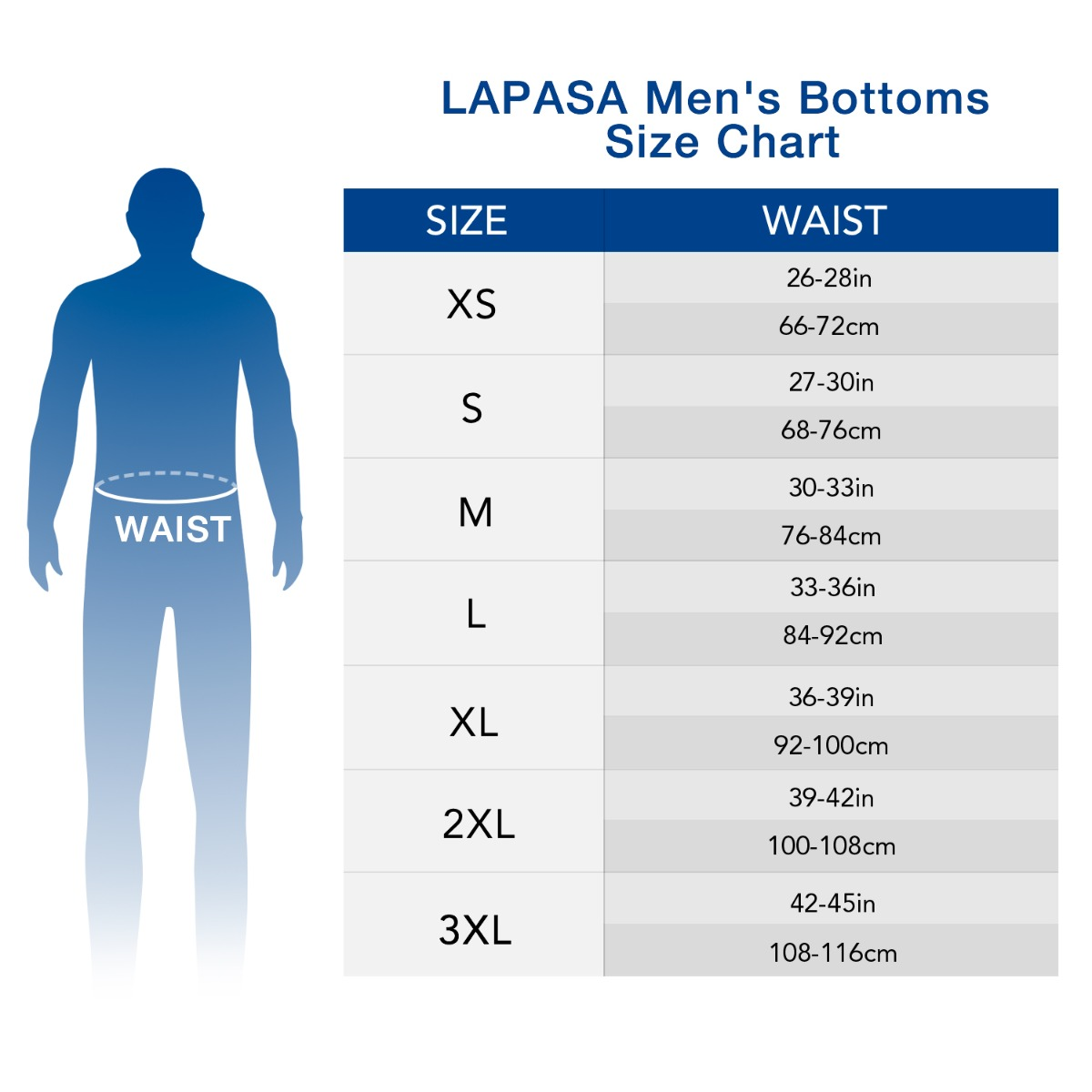 M25 size chart