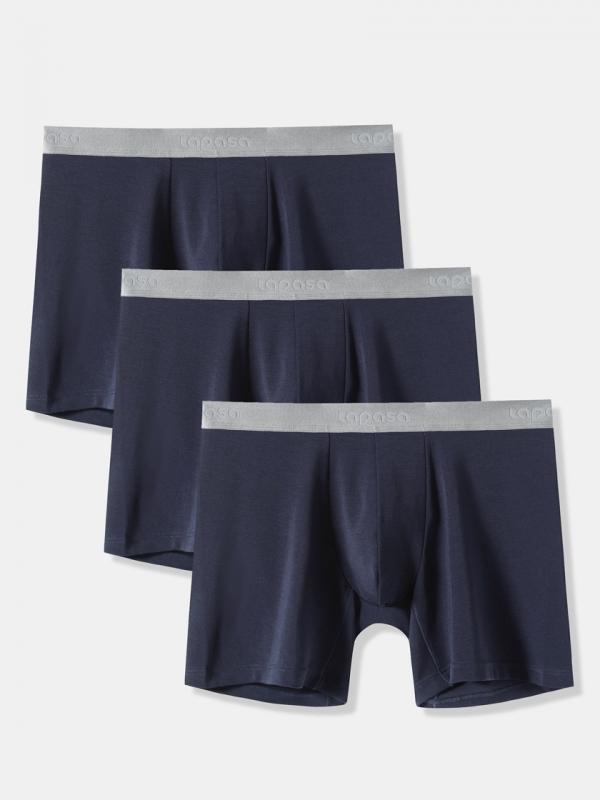 LAPASA (3 Pack) Men's MicroModal Boxer Briefs UnderwearM71R3