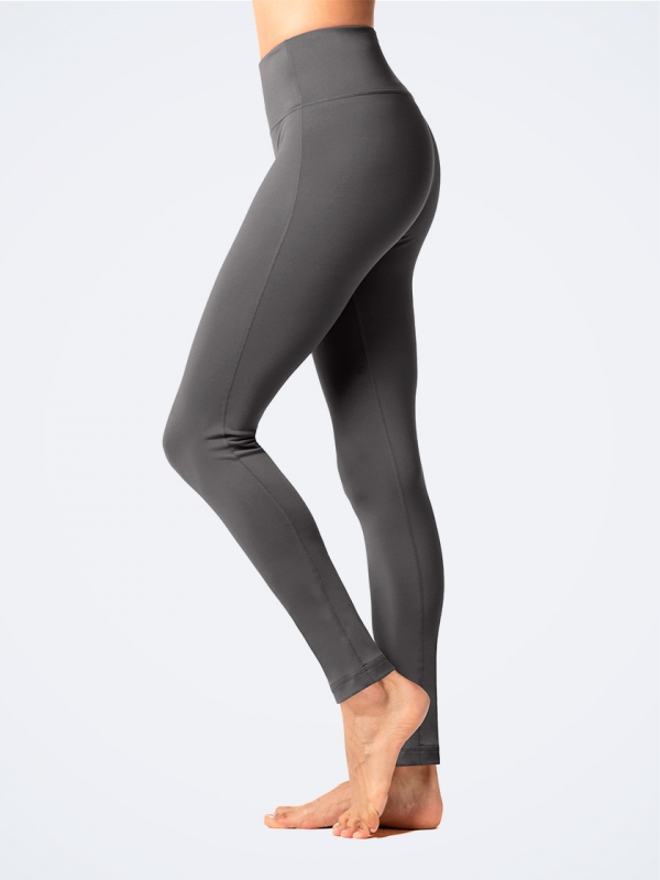 Women's Microfleece High Waist Sports Leggings L36