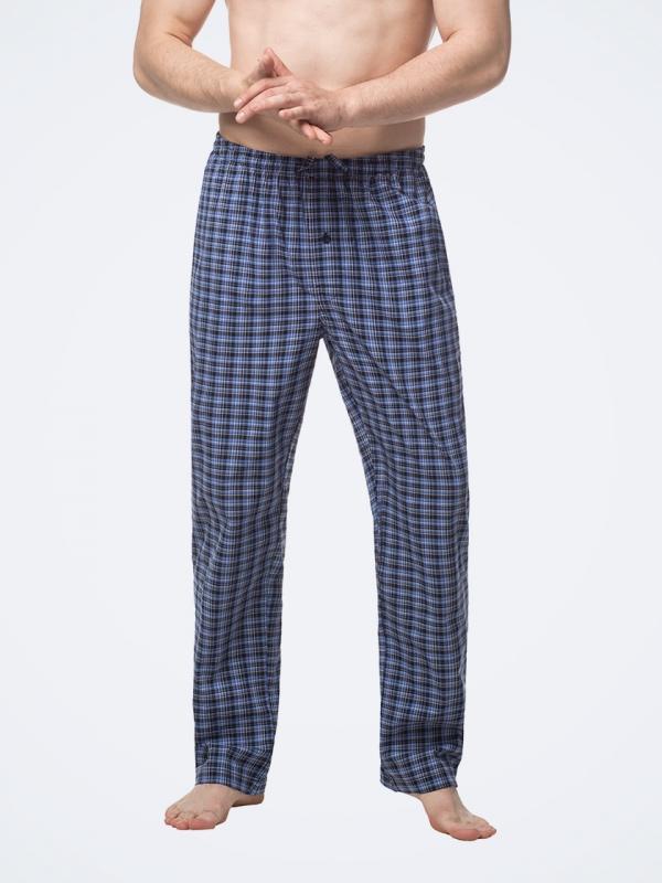 Men's 100% Cotton Woven Pajama Pants M38