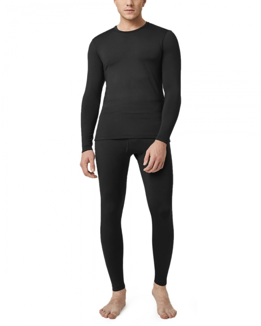 LAPASA Men's Lightweight Thermal Underwear Set Fleece Lined Base Layer Long Johns M11R2