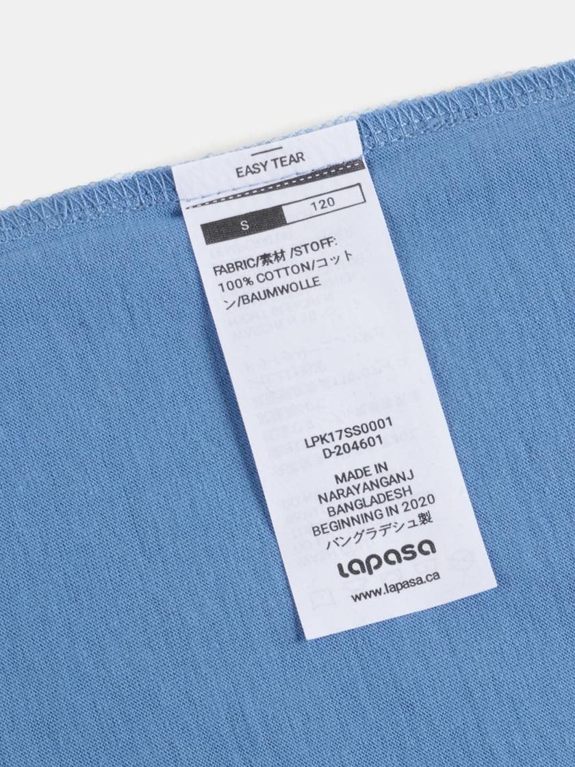 LAPASA Hypoallergenic 100% Cotton Kid's T-shirt Worry-free Unisex K01R4 4pack