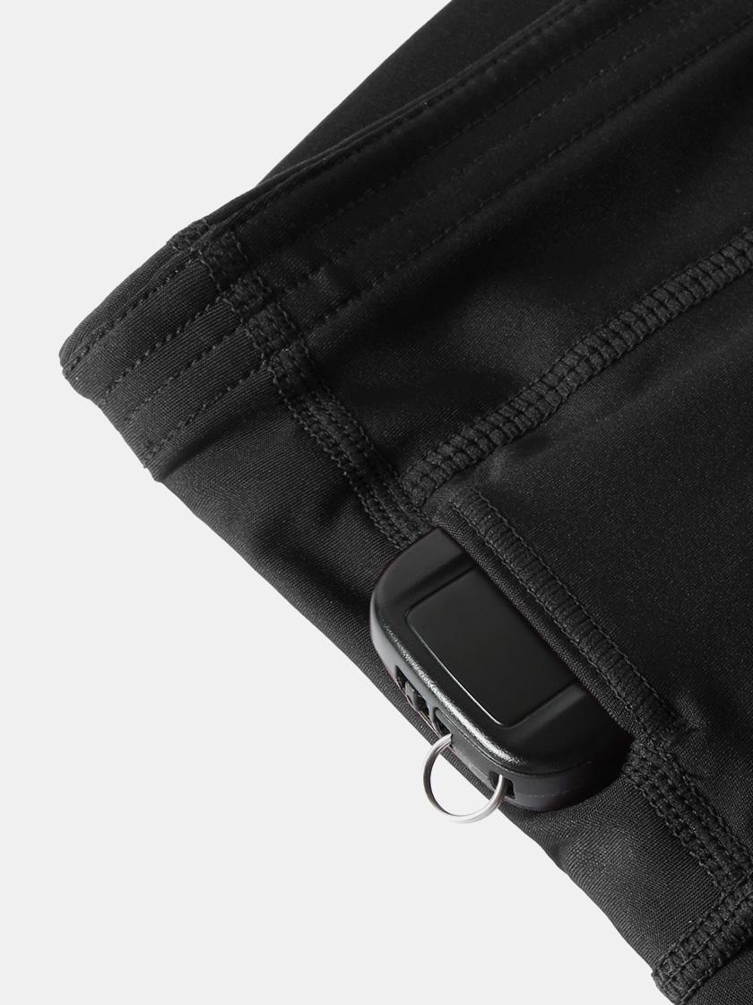 LAPASA High Waist Yoga  Side Pockets Shorts Tummy Control Activewear Sports Shorts L52B1