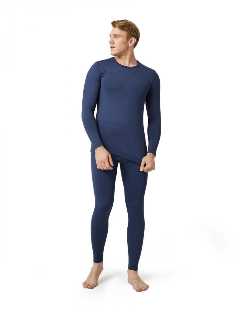 LAPASA Men's Midweight Thermal Underwear Long John Set Fleece Lined Base Layer M57R2